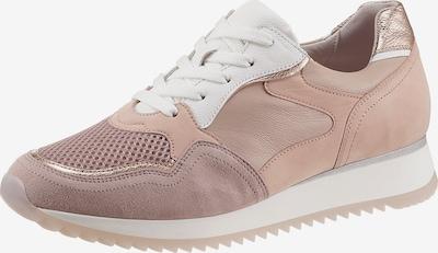 GABOR Sneaker in rosegold / rosé / altrosa, Produktansicht