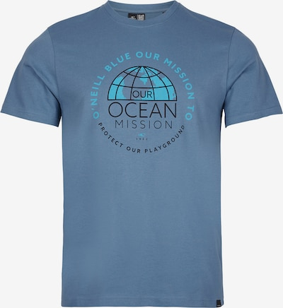 O'NEILL Shirt 'Banda Sea' in Aqua / Dusty blue / Black, Item view