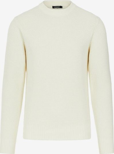 J.Lindeberg Oliver Structure Pullover in weiß, Produktansicht