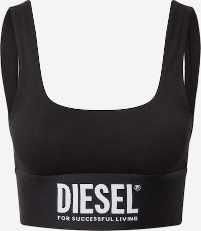 DIESEL Podprsenka - černá / bílá, Produkt