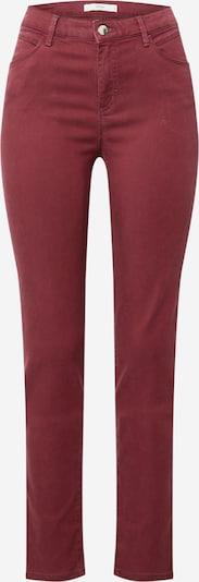 BRAX Jeans 'SHAKIRA' in burgunder, Produktansicht
