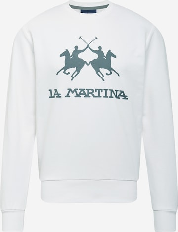 La Martina Sweatshirt in White