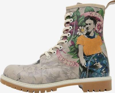 DOGO Schnürstiefel 'Flower From The Past' in mischfarben, Produktansicht