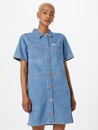 Palaidinės tipo suknelė 'CHORE' iš WRANGLER, spalva – tamsiai (džinso) mėlyna, Modelio vaizdas