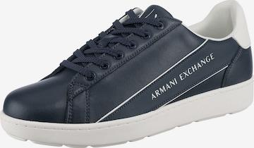 ARMANI EXCHANGE Sneaker in Blau