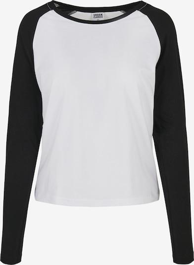 Urban Classics Shirt in schwarz / weiß, Produktansicht