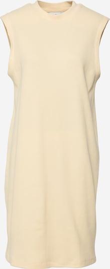 Another Label Jurk 'Acaena' in de kleur Pasteelgeel, Productweergave