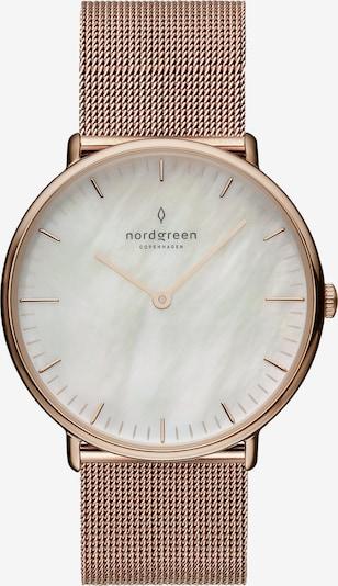 Nordgreen Uhr in rosé / weiß, Produktansicht