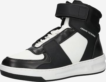 Baskets hautes ARMANI EXCHANGE en noir