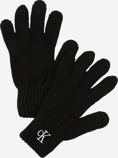 Calvin Klein Jeans Gants en noir / blanc, Vue avec produit