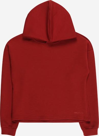 ONLY PLAY Sport sweatshirt 'LOUNGE' i eldröd, Produktvy