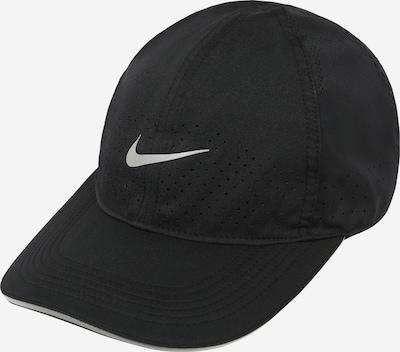 NIKE Casquette de sport en gris argenté / noir, Vue avec produit