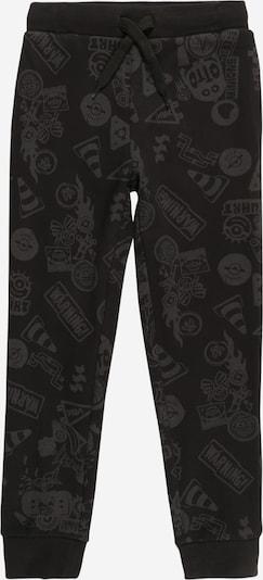 OVS Broek in de kleur Grijs / Zwart, Productweergave