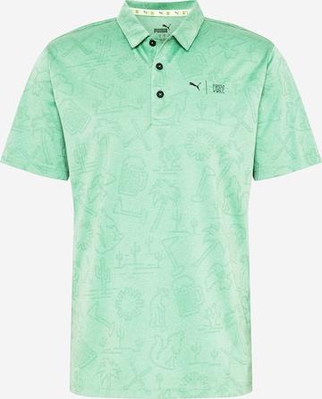 T-Shirt fonctionnel 'Flash' PUMA en vert