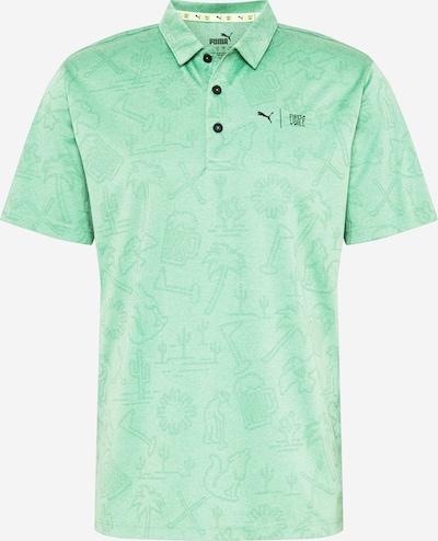 PUMA Camiseta funcional 'Flash' en verde / negro, Vista del producto