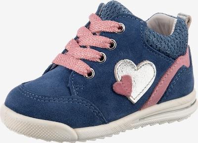 SUPERFIT Lauflernschuhe 'AVRILE' in blau / rosa, Produktansicht