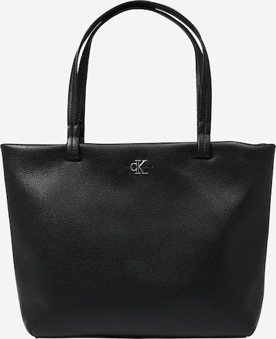 Calvin Klein Jeans Cabas en noir, Vue avec produit