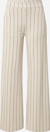 ICHI Παντελόνι σε μπεζ / μαύρο, Άποψη προϊόντος