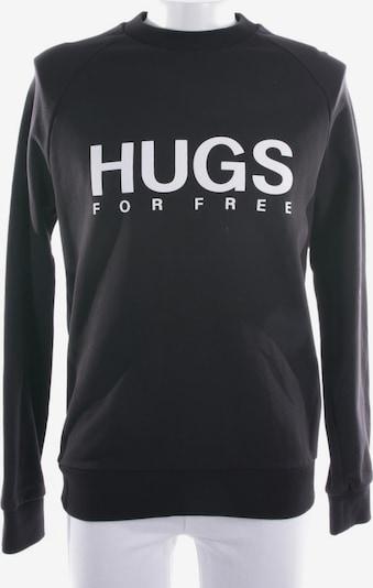 HUGO Sweatshirt  in S in schwarz / weiß, Produktansicht