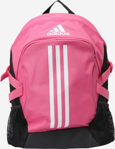 ADIDAS PERFORMANCE Rucksack 'Power 5' in pink / schwarz / weiß, Produktansicht