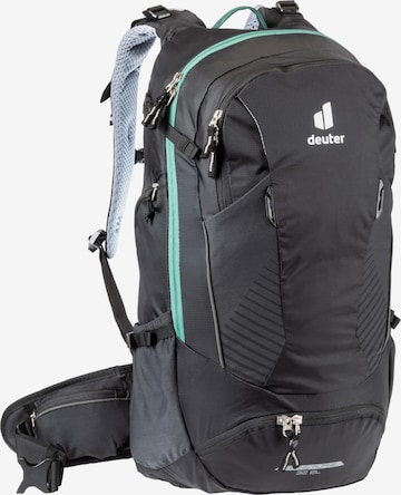 DEUTER Sports Backpack 'Trans Alpine 32 EL' in Black