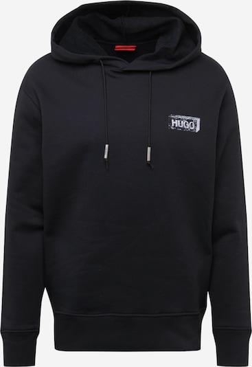 HUGO Mikina - svetlosivá / čierna, Produkt
