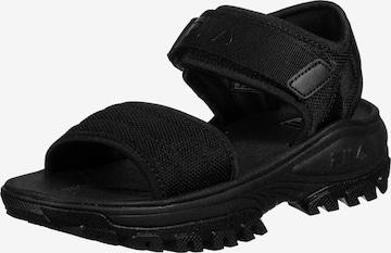 FILA Sandaal in Zwart