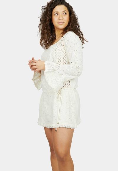 Isla Ibiza Bonita Kleid 'LOVELY LACE' in beige, Modelansicht
