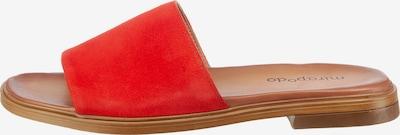 Mirapodo Pantolette in rot, Produktansicht