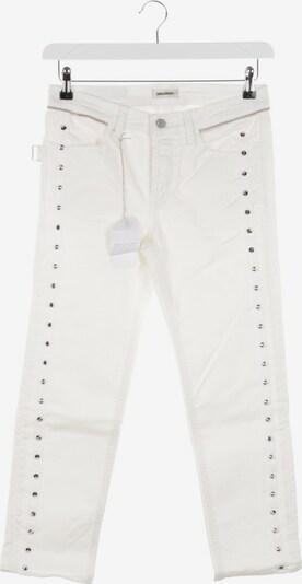Zadig & Voltaire Jeans in 25 in weiß, Produktansicht