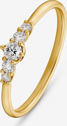 CHRIST Ring in Gelb