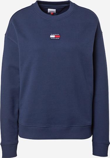 Tommy Jeans Sweatshirt en marine / rot / weiß, Vue avec produit