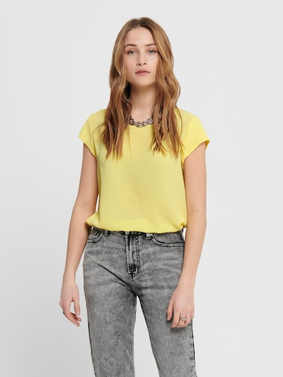 ONLY Blouse 'Vic' in de kleur Citroen, Modelweergave