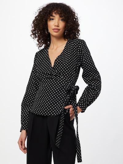 Soft Rebels Bluse 'Cath' in schwarz / weiß, Modelansicht