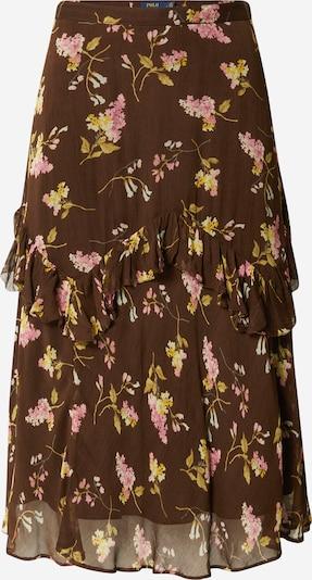 Polo Ralph Lauren Suknja u smeđa / senf / roza / bijela, Pregled proizvoda