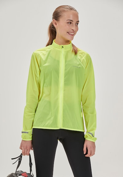 ENDURANCE Athletic Jacket 'IMMIE W' in Yellow: Frontal view