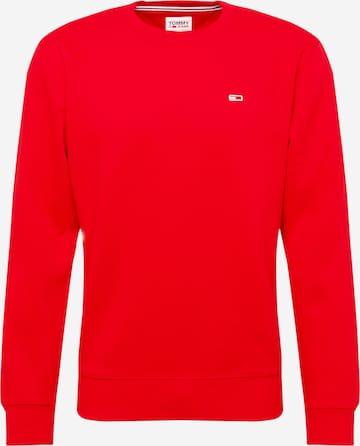 Tommy Jeans Sweatshirt in Rot