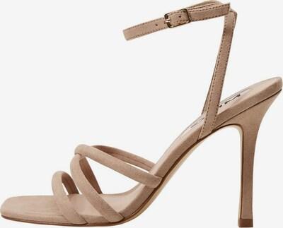 MANGO Páskové sandály - světle hnědá, Produkt