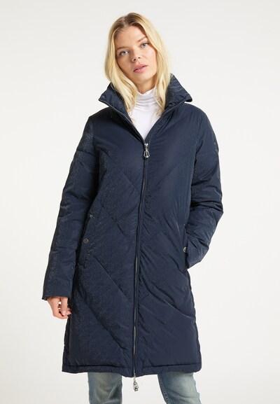 DreiMaster Vintage Mantel in marine, Modelansicht