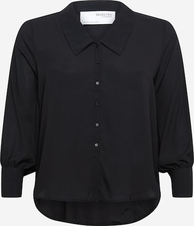 Selected Femme Curve Blouse 'Oris' in de kleur Zwart, Productweergave