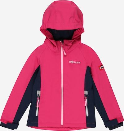 TROLLKIDS Outdoorová bunda 'Kristiansand' - námořnická modř / pitaya / bílá, Produkt