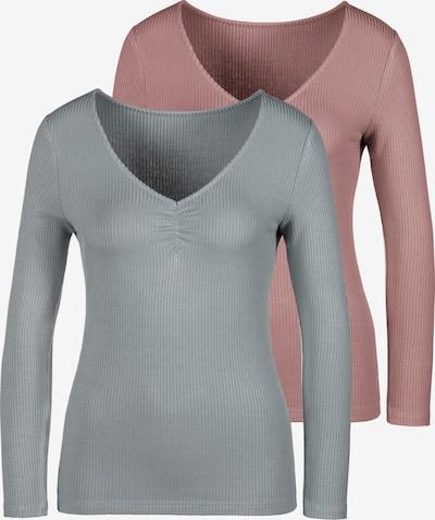 LASCANA Shirt in lila / flieder, Produktansicht