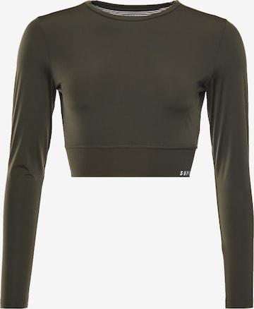 Superdry Functioneel shirt in Groen