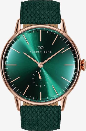 August Berg Uhr 'Serenity 40mm' in grün, Produktansicht