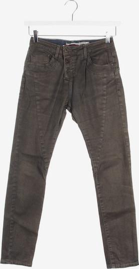 PLEASE Jeans in 24 in gold / dunkelgrau, Produktansicht