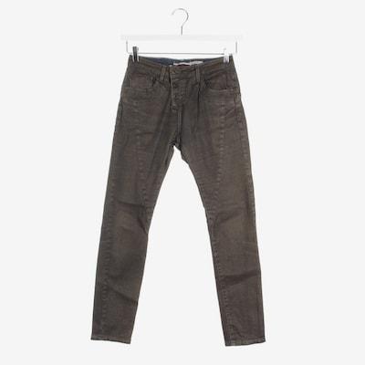PLEASE Jeans in 23 in gold / dunkelgrau, Produktansicht