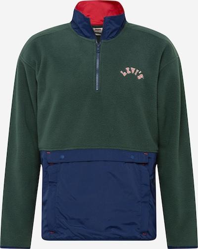LEVI'S Sweatshirt in de kleur Navy / Donkergroen, Productweergave