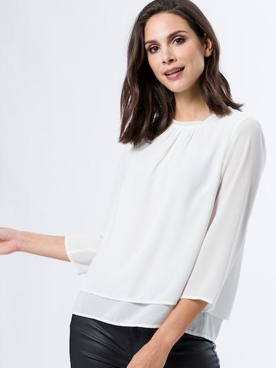 zero Bluse in offwhite, Modelansicht