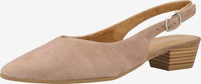 TAMARIS Slingpumps in taupe: Frontalansicht