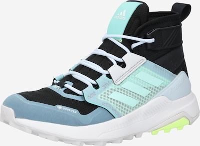 ADIDAS PERFORMANCE Boots en bleu / turquoise / noir, Vue avec produit